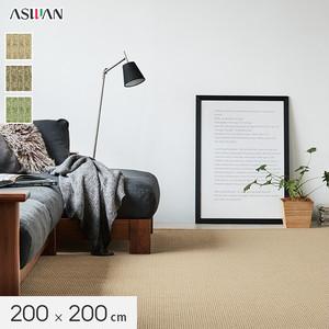 ■防ダニ・防音■アスワン YESカーペット 【アスフェロー】 200×200cm