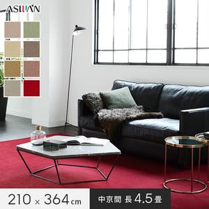 ■防ダニ・防音■アスワン YESカーペット 【アドニス】 中京間 長4.5畳 210×364cm