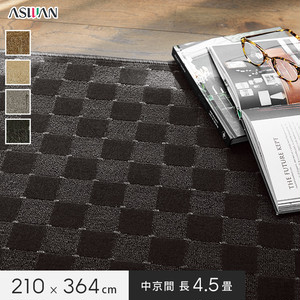 アスワン YESカーペット 【アスリリック】 中京間 長4.5畳 210×364cm