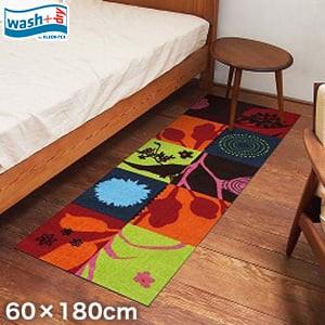 KLEEN-TEX 屋外屋内両用ラグマット Wash + Dry Summer Breeze 60×180cm