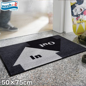 KLEEN-TEX 屋外屋内両用ラグマット Wash + Dry In & Out50×75cm