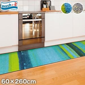 KLEEN-TEX 屋外屋内両用ラグマット Wash + Dry Medley 60×260cm
