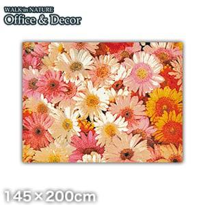KLEEN-TEX オフィス用デザインマット Office & Decor Flower フラワー 145×200cm