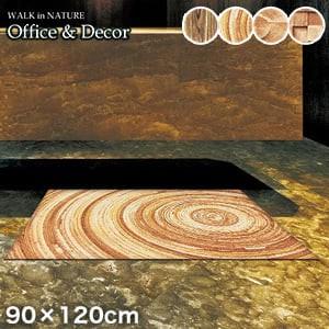 KLEEN-TEX オフィス用デザインマット Office & Decor Wood ウッド 90×120cm