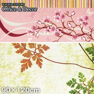 KLEEN-TEX オフィス用デザインマット Office & Decor Inspiration Flower フラワー 90×120cm