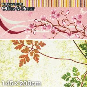 KLEEN-TEX オフィス用デザインマット Office & Decor Inspiration Flower フラワー 145×200cm