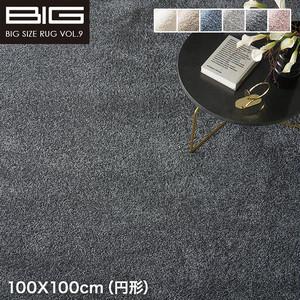 【抗アレルゲン】スミノエ BIG Mイルミエ 100X100cm(円形)