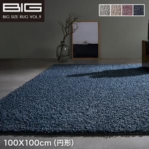 【抗ウイルス 抗アレルゲン】スミノエ BIG Mソフトヘザー 100X100cm(円形)