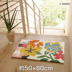 スミノエ ディズニーラグマット ALICE/Talking flower MAT(トーキングフラワーマット) 約50×80cm