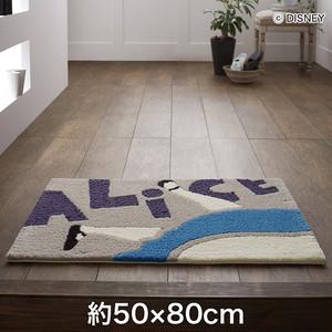 スミノエ ディズニーラグマット ALICE/Falling MAT(フォーリングマット) 約50×80cm