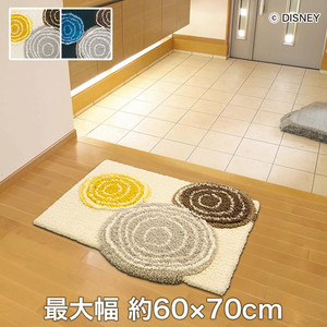 スミノエ ディズニーラグマット MICKEY/Ring MAT(リングマット) 約50×80cm