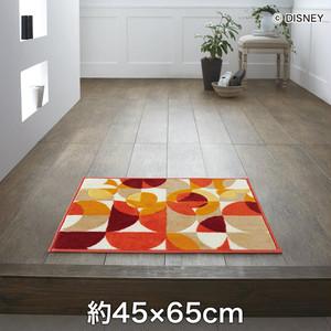 スミノエ ディズニーラグマット MICKEY/Semicircle BATH MAT(セミサークルバスマット) 約45×65cm