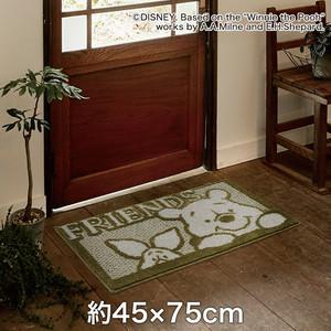 スミノエ ディズニーラグマット POOH/Friends MAT(フレンズマット) 約45×75cm