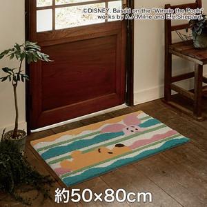 スミノエ ディズニーラグマット POOH/Look in MAT(ルックインマット) 約50×80cm