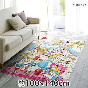 スミノエ ディズニーラグマット ALICE/Story RUG(ストーリーラグ) 約100×140cm
