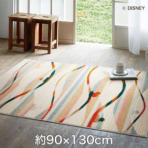 スミノエ ディズニーラグマット MICKEY/Candy line RUG(キャンディラインラグ) 約90×130cm