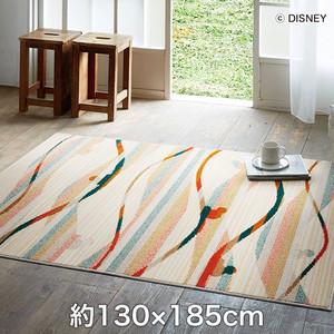 スミノエ ディズニーラグマット MICKEY/Candy line RUG(キャンディラインラグ) 約130×185cm