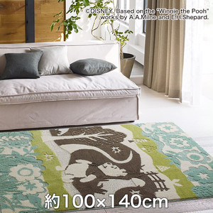 スミノエ ディズニーラグマット POOH/In the wood RUG(インザウッドラグ) 約100×140cm