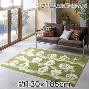 スミノエ ディズニーラグマット POOH/Honey pot RUG(ハニーポットラグ) 約130×180cm