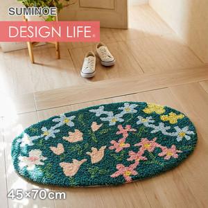 スミノエ DESIGN LIFE オハナバタケマット 45×70cm