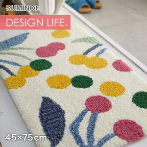 スミノエ DESIGN LIFE ポポロマット 45×75cm