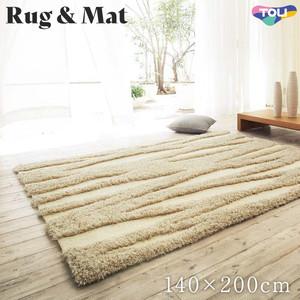 東リ 高級ラグマット Simple&Natural 140×200cm TOR3806