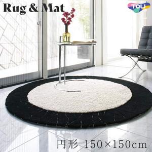 東リ 高級ラグマット Chic Modern 円形 150×150cm TOR3813