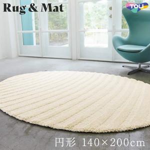 東リ 高級ラグマット Chic Modern 円形 140×200cm TOR3814
