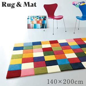 東リ 高級ラグマット Pop&Colorful 140×200cm TOR3846