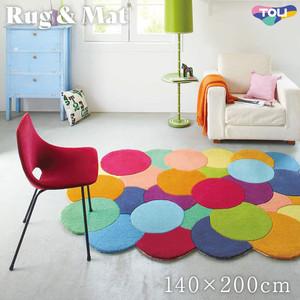 東リ 高級ラグマット Pop&Colorful 140×200cm TOR3848