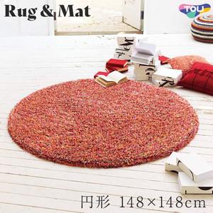 東リ 高級ラグマット Pop&Colorful 円形 148×148cm TOR3850
