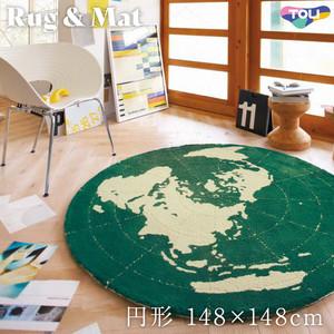 東リ 高級ラグマット Pop&Colorful 円形 148×148cm TOR3852