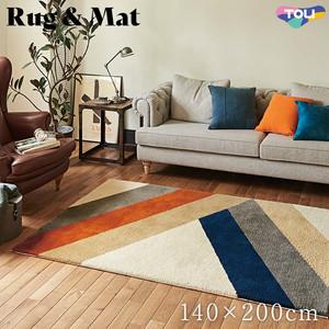 東リ 高級ラグマット Vintage&Retro 140×200cm TOR3882