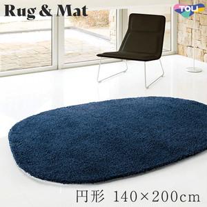 東リ 高級ラグマット Chic Modern 円形 140×180cm TOR3884