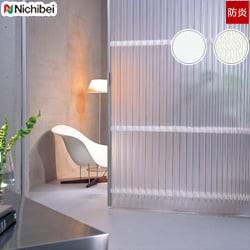 【ニチベイ】アコーディオンドア シンプルモダンな半透明レザーでスタイリッシュな空間に やまなみ マークII「ブリーナ」