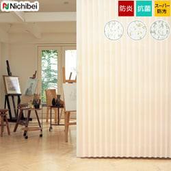 【ニチベイ】アコーディオンドア ナチュラルな織物調。汚れが落ちやすい機能レザー やまなみ マークII「ノーブル(S)」