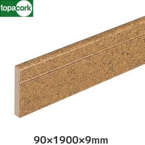 東亜コルク コルク造作材 スピード施工コルクフローリング用 コルク柄合成幅木 60x1900x9mm