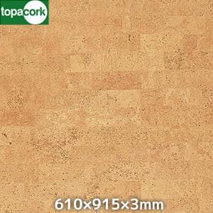 東亜コルク 壁用 無塗装コルクシート HMY柄 610×915×3mm
