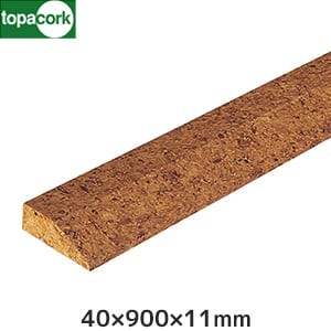 東亜コルク コルク造作材(特殊樹脂ワックス仕上)ミキリB11 40×900×11mm