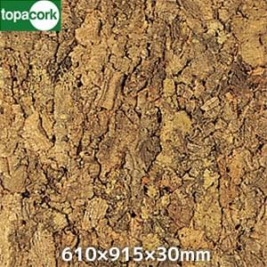東亜コルク 壁用 バージンコルク 610×915×30mm