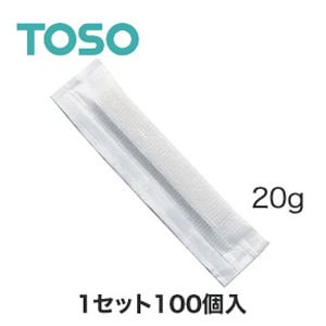 TOSO カーテンDIY用品 カーテンウェイト バータイプ 20g 100個
