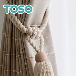 TOSO カーテンアクセサリー タッセル DS70