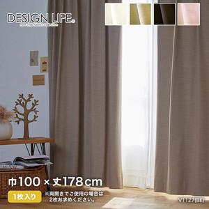 カーテン 既製サイズ スミノエ DESIGNLIFE NOCHE(ノーチェ) 巾100×丈178cm