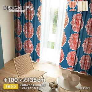 カーテン 既製サイズ スミノエ DESIGNLIFE DAIRIN(ダイリン) 巾100×丈135cm