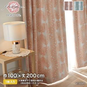 カーテン 既製サイズ スミノエ DESIGNLIFE floride KASANE(カサネ) 巾100×丈200cm