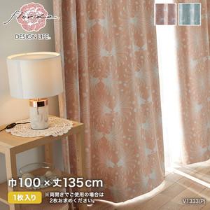 カーテン 既製サイズ スミノエ DESIGNLIFE floride KASANE(カサネ) 巾100×丈135cm
