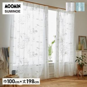 カーテン 既製サイズ スミノエ MOOMIN エピック 巾100×丈198cm 1枚入