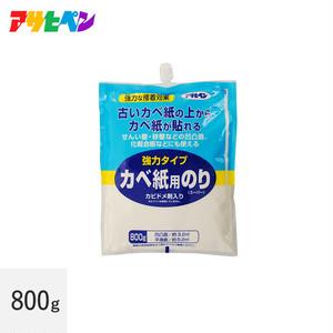 アサヒペン カベ紙用のりスーパー(強力タイプ) 800g