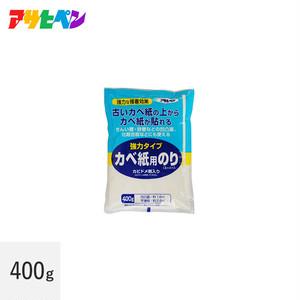 アサヒペン カベ紙用のりスーパー(強力タイプ)400g