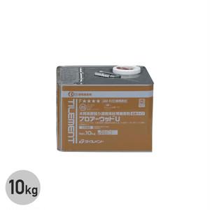 川島織物セルコン 直貼用フローリング用 ウレタン樹脂系接着剤 フロアーウッドU 10kg